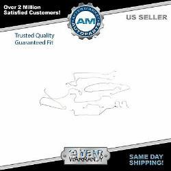 Dorman Stainless Brake Line Kit for Silverado Sierra Crew Cab RWD 5-1/2ft Bed