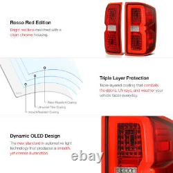 FULL-LED 14-18 Chevy Silverado 1500 2500 3500 Sequential Signal LED Tail Light