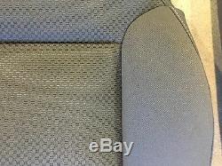 Factory Oem Ebony Black Cloth Seat Covers 2014 2015 Sierra Silverado Crew Cab
