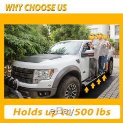 Fit 07-18 SILVERADO CREW CAB DIESEL Truck 6 NERF BAR SIDE STEP RUNNING BOARD