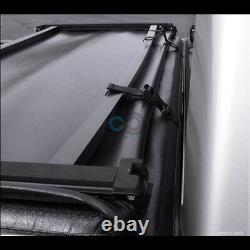 Fits 04-07 Chevy Silverado/GMC Sierra 5.8' Bed Tri-Fold Soft Vinyl Tonneau Cover