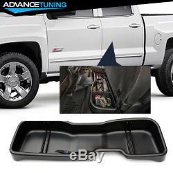 Fits 14-19 Chevy Silverado GMC Sierra Crew Cab Underseat Storage Box Unpainted