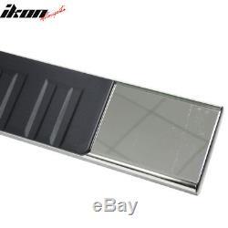 Fits 19 Silverado/ Sierra Crew OE Style 6in SS Side Step Nerf Bar Running Boards