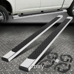 For 07-19 Chevy/gmc Silverado Sierra Crew Cab 5 Flat Step Bar Running Boards