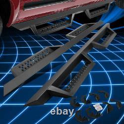 For 07-19 Silverado Sierra Crew Cab BCK Style 5 Drop Steps Bar Running Boards