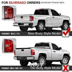 For 14-18 Silverado Cheyenne Ecotec Vortec Duramax Red LED Neon Tube Tail Light