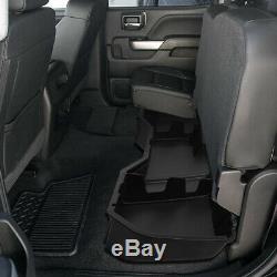 For 14-19 Silverado Sierra Crew Cab Under Seat Storage Organizer Tray Tool Box