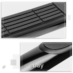 For 19-20 Silverado/Sierra Crew Cab 3 Side Step Nerf Bar Running Board Black