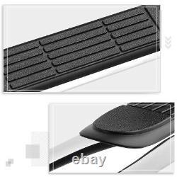 For 19-20 Silverado/Sierra Crew Cab 3 Side Step Nerf Bar Running Board Chrome
