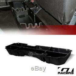 For 2014-2018 Silverado/Sierra Crew Blk Gearbox Underseat Storage Case Cargo Box