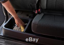 Husky 2007-2014 Silverado Sierra Crew Cab Under-Seat Storage Box GearBox 09001