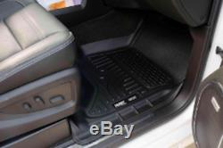 Husky Liners 98231 Weatherbeater Floor Mat 2014-2018 Silverado Sierra Crew Cab