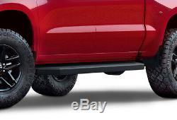 IBoard Black Running Boards Style Fit 19-20 Chevy Silverado GMC Sierra Crew Cab