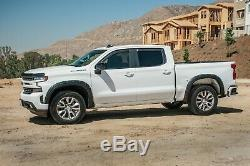 In-channel Window Visors For Chevy Silverado 2019-2021 (full Set) Crew Cab
