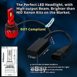 LED High Beam Headlight Lamps for 1988-98 Chevy GMC C10 C/K Truck, Headlamp Bulb