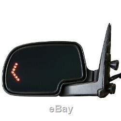 Left Side Power Mirror For 2003 Chevy Silverado 1500 Tahoe Dimming Heat Memory