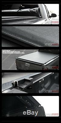 Low Profile Roll Up Tonneau Cover 14-18 Silverado/Sierra 1500 Crew 5.8'/68 Bed