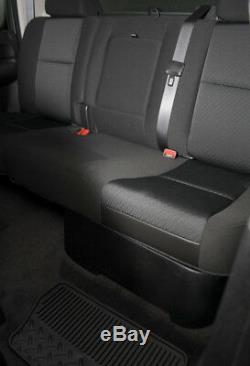 MTX Chevrolet Silverado/GMC Sierra Crew Cab 2007-2016 10 Loaded Sub Box