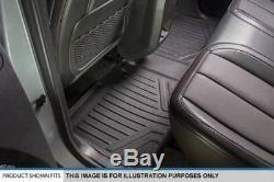 Maxliner 14-18 Silverado Sierra 1500 15-18 2500 3500 HD Crew Cab Floor Mats