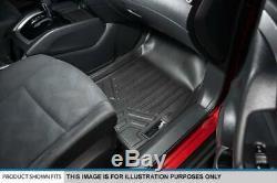 Maxliner 2019-2020 Silverado 1500 Sierra 1500 Crew Cab Front Row Floor Mat Set