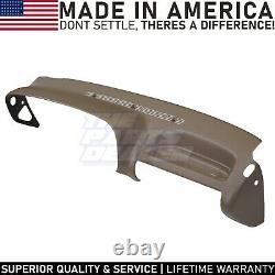 Molded Dash Cover Overlay Skin for 1995-1996 C/K 1500-3500 Trucks in Tan