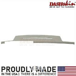 Molded Dash Skin Cover Overlay 1988-1994 Chevy GMC Truck C1500 K1500 Light Grey