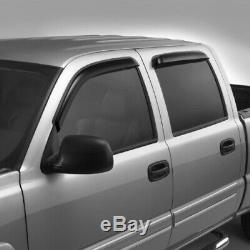 NEW OEM GM Door Window Vent Visors Deflectors 19172622 Silverado Sierra 2007-13