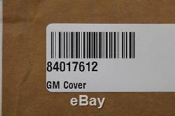 NEW OEM GM Driver Seat Back Cover Black Leather 84017612 Silverado Sierra 16-18