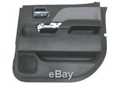 NEW OEM GM Passenger Rear Door Trim Panel Black 23142773 Silverado Sierra 14-18