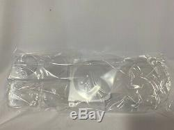 New 1981-1987 Chevrolet GMC Pickup Truck Dash Lens with gauges WITH Clock