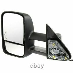New GM1320355 Driver Mirror with In-Glass Signal For Chevy/GMC Trucks 2003-2007