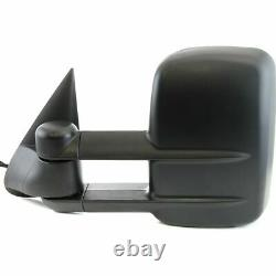 New Left Side Power Tow Mirror with Heat & Glass Signal for Chevy/GMC Truck 03-06