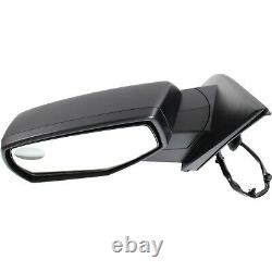 New Mirror Driver Left Side Heated for Chevy LH Hand GM1320492 20979673-PFM