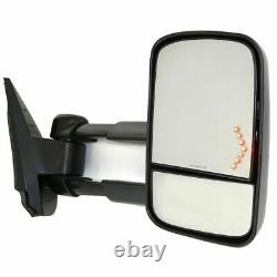 New Passenger Side Power Heated Mirror For Chevy Silverado HD 2500 / 3500 07-13