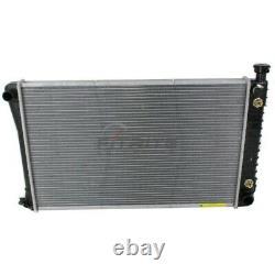 New Radiator Plastic And Aluminum Fits Chevrolet C1500 1988-1998 Gm3010258