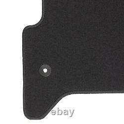 OEM NEW Front Carpet Floor Mats Black Crew Cab 15-19 Silverado Sierra 84340700