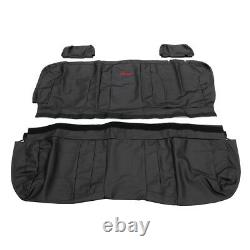 OEM NEW Rear Seat Covers Double and Crew Cabs 16-19 Silverado Sierra 23443857