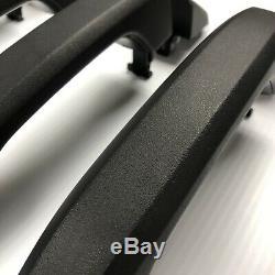 OEM Sierra Silverado Sierra Black Texture Door Handles Crew 2014 -2018
