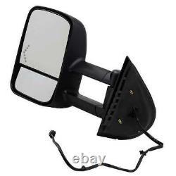 Power Heated Tow LED Signal Side Mirror Pair for 2007-2013 Sierra Silverado 1500
