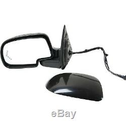 Power Mirror For 2003-2006 GMC Sierra 1500 Left Power Fold Heated Paint To Match