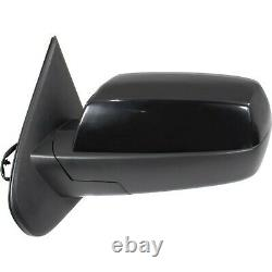 Power Mirror For 2014-18 Chevy Silverado 1500 Left Manual Fold Heated Paintable