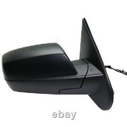 Power Mirror For 2014-18 Chevy Silverado 1500 Right Manual Fold Textured Heated