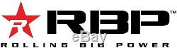 RBP RX-3 Step Bars Fits 07-18 Silverado/Sierra Crew Cab Trucks 1126B-RX3