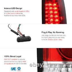 RED Tail Light 88-98 Chevy GMC C10 C/K 1500 2500 3500 Superior LED Bulb BackUp
