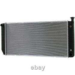 Radiator Aluminum Core Plastic Tank Direct Fit for Chevy GMC Pickup Truck SUV