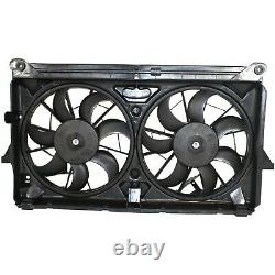 Radiator Cooling Fan For 2009-2013 Chevrolet Silverado 1500