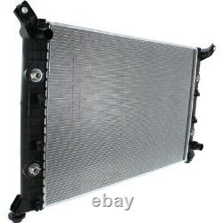 Radiator For 2011-15 Chevy Silverado 2500 HD 6.0L 1 Row With Eng Oil Cooler