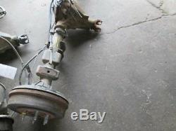 Rear Axle Assembly Crew Cab 3.23 Ratio Gu5 Fits 05-07 Silverado 1500 222838