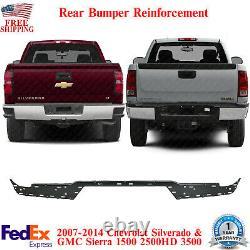 Rear Bumper Reinforcement Impact Bar For 2007-14 Silverado & Sierra 1500-3500 HD