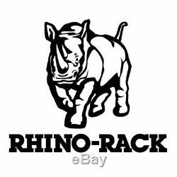 Rhino-Rack JA4068 Vortex Black Roof Crossbar For Chevy SILVERADO Crew Cab 14-18